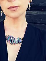 Sady šperkov - Krištáľový SET.: náhrdelník a zdarma náušnice z rovnakého materialu - 11810819_