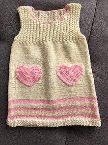 Detské oblečenie - Šatová suknička - 11809103_