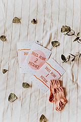 Detské doplnky - Míľnikové kartičky - Princess - 11814146_