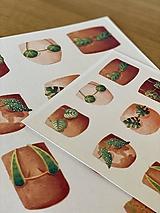 Grafika - Letná kolekcia plaviek: Provokatéri z kvetináča - Print | Botanická ilustrácia (A3) - 11812581_