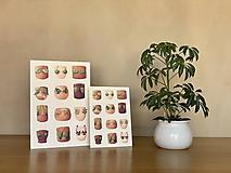 Grafika - Letná kolekcia plaviek: Provokatéri z kvetináča - Print   Botanická ilustrácia - 11812584_
