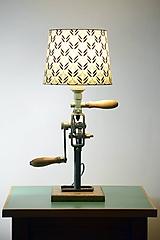 Industriálna lampa Vŕtačka