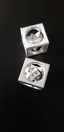 Kľúčenky - Hracia kocka v kocke malá(dural)-klúčenka - 11814567_