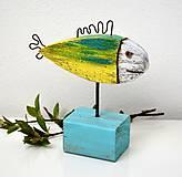 Dekorácie - Drevená rybka - 11818492_