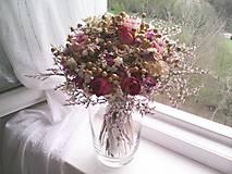 Dekorácie - Svadobná kytica ... jemná láska ... - 11820583_