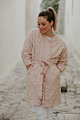 Kabáty - KIMONO INDIANA WHITE - 11820535_