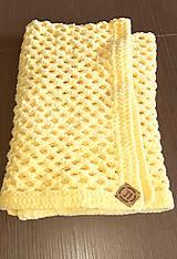 Textil - Háčkovaná detská deka - 11817231_