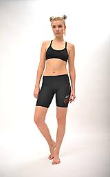 Nohavice - Krátke legíny - Ľudovky black - 11818261_