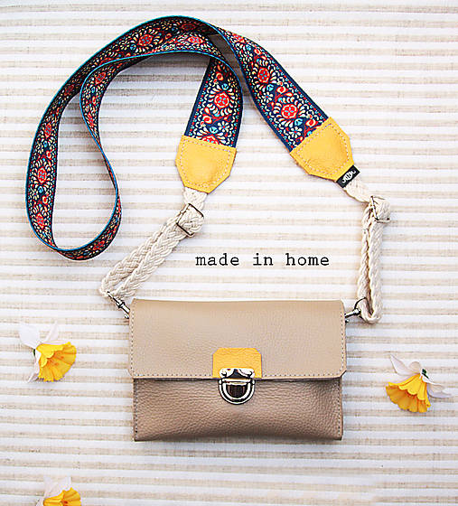 Kabelky - Mini leather bag no.4 - 11816086_