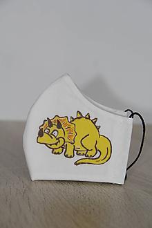 Rúška - Detské rúško - Dinosaurus 3 - 11825070_