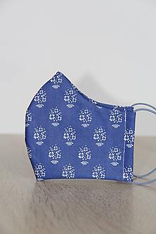 Rúška - Rúško - modrotlač - 11825178_
