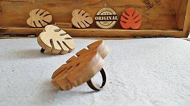 Prstene - Prstienky z dreva monsters - 11823014_