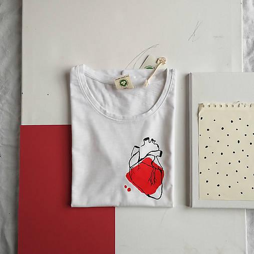 Dámske tričko Ammyla - Moje srdce