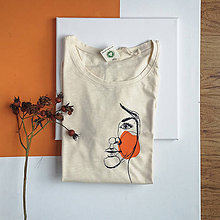 Tričká - Dámske tričko Ammyla - Moja druhá tvár - 11821230_