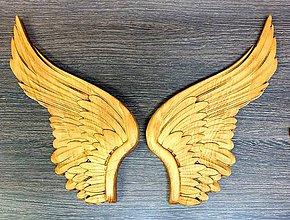 Grafika - Drevorezba Anjelské krídla. - 11821264_
