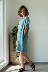 Šaty - Ľanové šaty Freedom - 11821344_