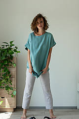 Šaty - Ľanové šaty Freedom - 11821346_