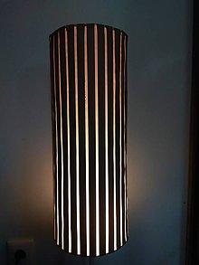 Svietidlá a sviečky - lampa valec - 11824337_