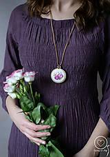 Náhrdelníky - Vyšikráska Violeta/Lenka - 11822331_