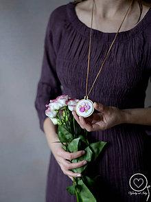 Náhrdelníky - Vyšikráska Violeta/Lenka - 11822328_