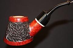 Iné - Štýlová fajka z briárového dreva #2008 - 11820732_