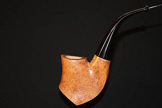Iné - Štýlová fajka z briárového dreva #2012 - 11820667_