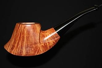 Iné - Štýlová fajka z briárového dreva #2007 - 11820707_