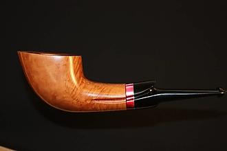 Iné - Štýlová fajka z briárového dreva #2010 - 11820744_