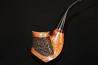Iné - Štýlová fajka z briárového dreva #2011 - 11820752_