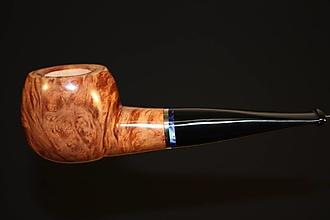 Iné - Štýlová fajka z briárového dreva #2013 - 11820765_