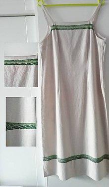 Šaty - Ručne vyšívané dámske šaty - 11823666_