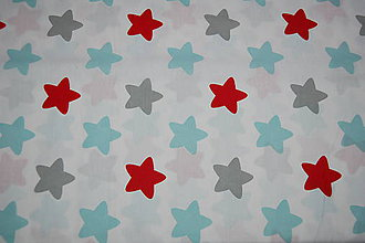 Textil - metráž hviezdy - 11825527_