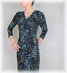 Šaty - Šaty vz.516 i krátký rukáv - 11826883_