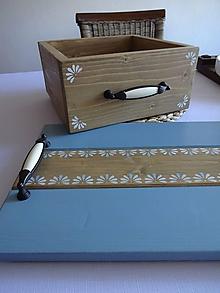 Dekorácie - Debnička s ornamentom - 11826221_