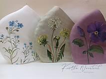 """Rúška - Ručne maľované ľanové rúška s priestorom na filter kolekcia """" HERBÁR """" - 11826850_"""
