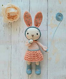 Hračky - Zajačica Alica - 11828634_