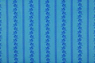 Textil - bavlna - folk (Modrá) - 11829333_