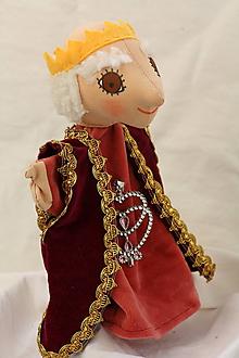 Hračky - Maňuška. Bábika Kráľ Karol múdry - 11829184_
