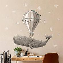 Obrázky - Samolepka na stenu Fly Away - 11827056_