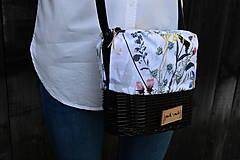 Kabelky - Prútená kabelka na rameno N°6 - 11829099_