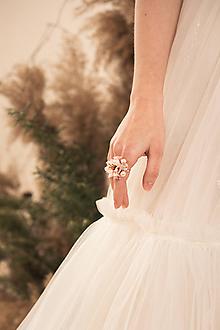 """Prstene - Kvetinový prstienok """"rozkvitnutý sad"""" - 11826602_"""