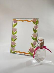 Zrkadlá - Zrkadlo - kvetinky - 11828114_