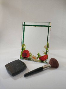 Zrkadlá - Zrkadlo - poľná lúka - 11828117_