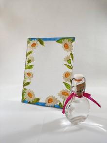 Zrkadlá - Zrkadlo - margarétky - 11828196_
