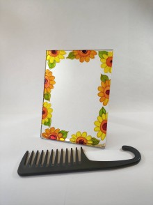 Zrkadlá - Zrkadlo - kvety - 11828201_
