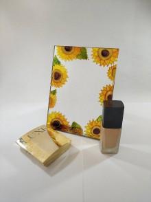 Zrkadlá - Zrkadlo - slnečnice - 11828205_