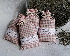 Darčeky pre svadobčanov - FILKI vrecúško s levanduľou - 11825769_