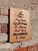 """Pomôcky - Denko """"Coffee Motivák"""" - 11828728_"""