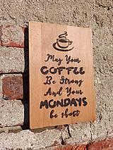 """Pomôcky - Denko """"Coffee Motivák"""" - 11828730_"""