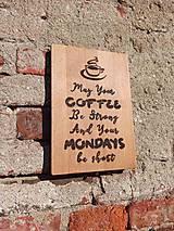 """Pomôcky - Denko """"Coffee Motivák"""" - 11828731_"""